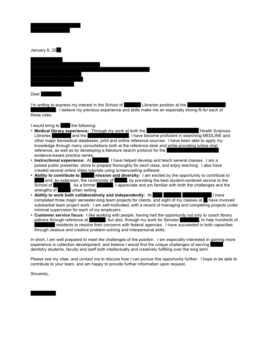 Cover Letter Google Internship  Google Cover Letter Template