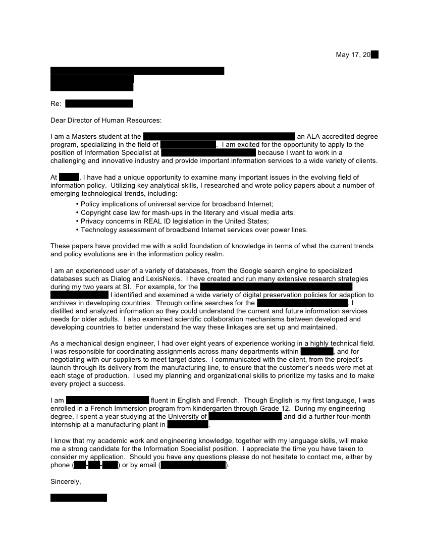 Litigation Specialist Cover Letter citizenship essay