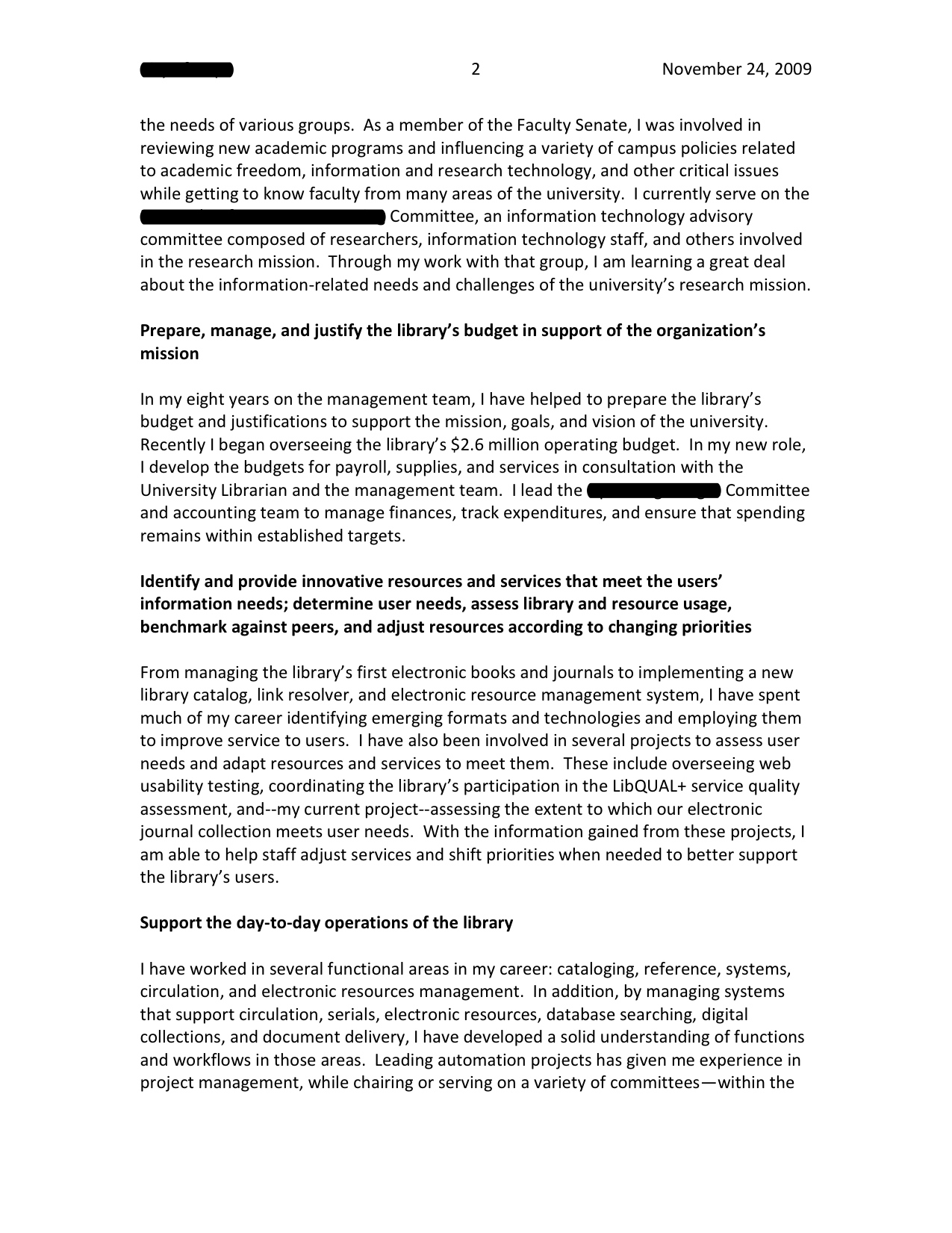 Performance Management Letter Template