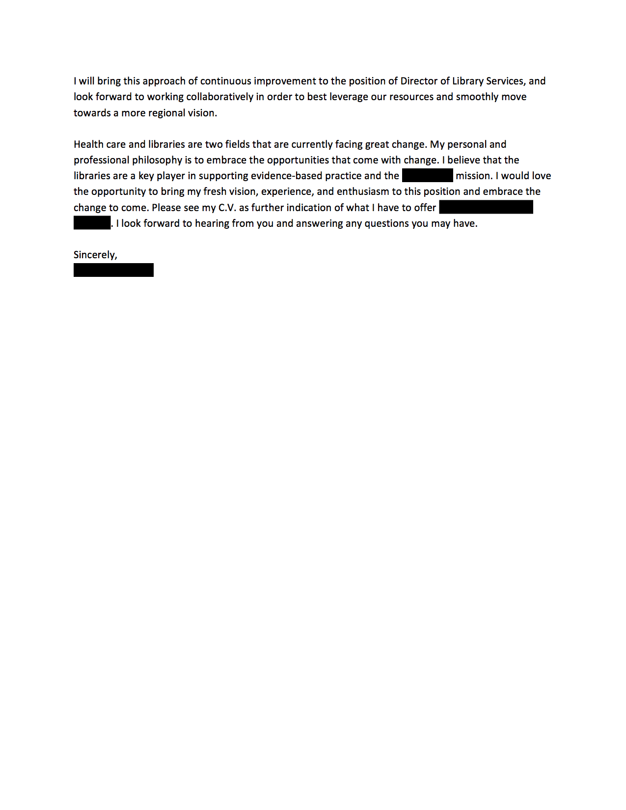 share this cover letter - Email Cover Letter Example