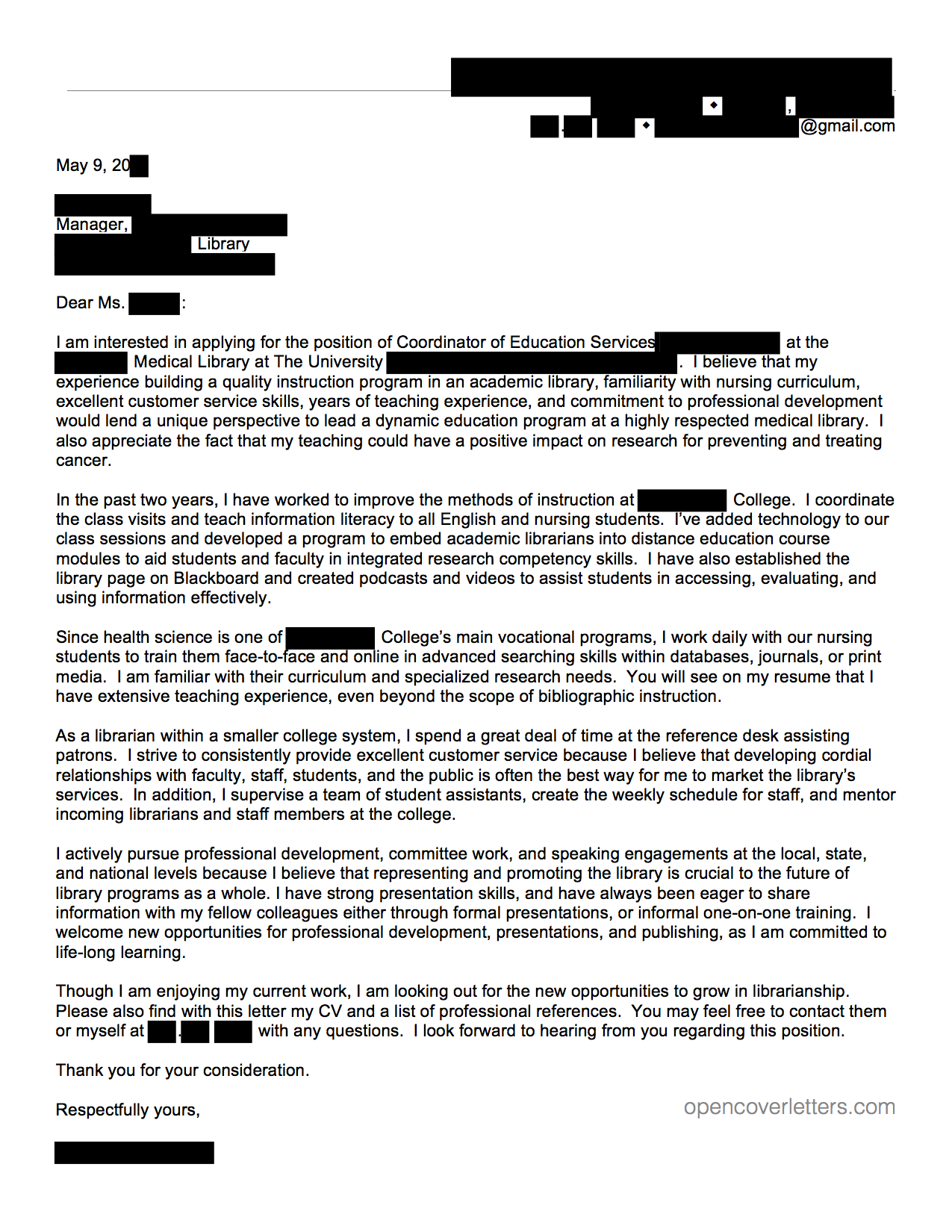 Captivating Coverletter80
