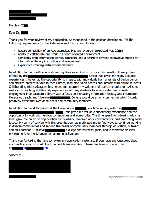 Recommendation Letter For Medical School From Employer